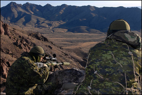 Members of Canadian JTF2 now hold the world record for longest confirmed sniper kill shot.