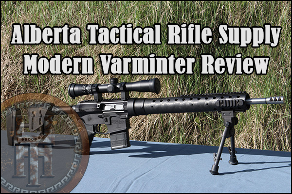 The Alberta Tactical Rifle Supply Modern Varminter in custom configuration.