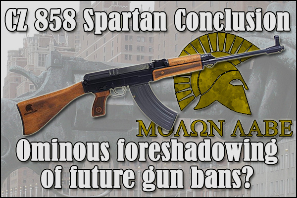 Does the CZ 858 conclusion foreshadow gun bans with the UN Arms Trade Treaty?
